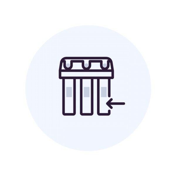 Установка системы Аквафор Осмо Классика